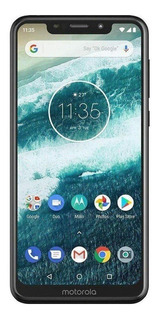 Motorola One 64 GB Preto