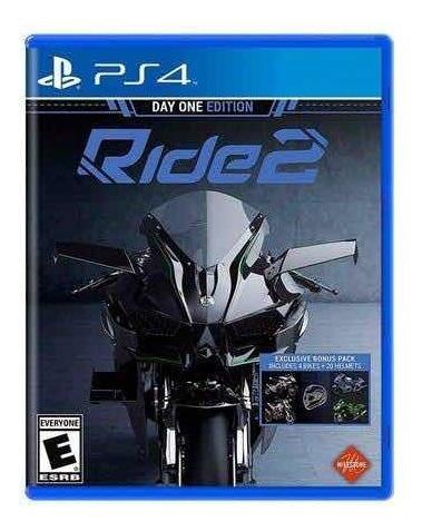 Jogo Ps4 Ride 2 - Day One Edition (dublado/legendado Pt)