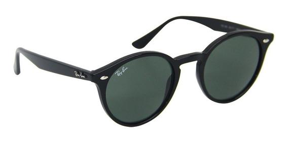 Óculos Sol Feminino Ray Ban Redondo 2180 Round - Original