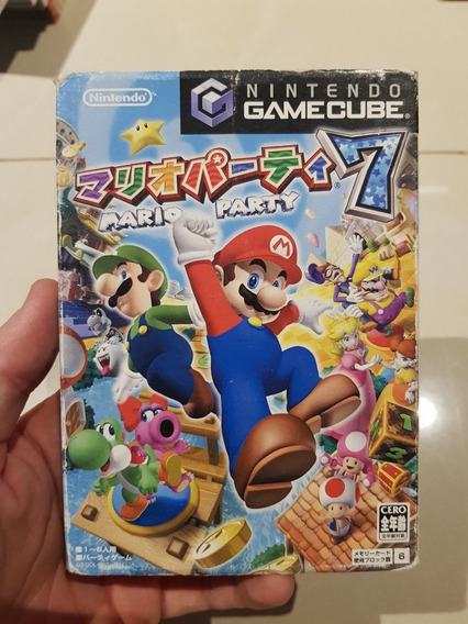 Mario Party 7 Nintendo Gamecube Original Japones Completo