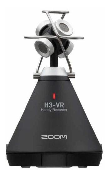 Gravador De Áudio Digital Zoom H3vr - Virtual 360°