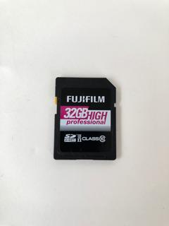 Cartão De Memória Fujifilm Sdhc 32gb High Professional
