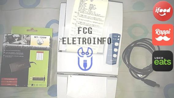 Impressora Térmica Tecpoint Dual Printer Ideal Para Ifood