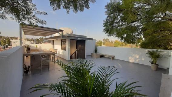 Casa Remodelada 420 M La Florida, Naucalpan Con Roof Garden