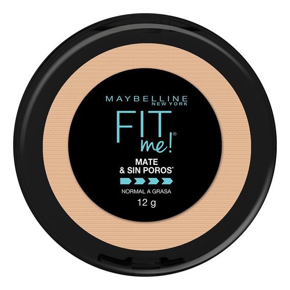 Maquillaje En Polvo Piel Mixta/grasa Fit Me Matte Maybelline
