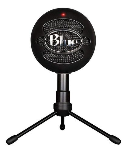 Imagen 1 de 3 de Micrófono Blue Snowball Ice condensador cardioide negro