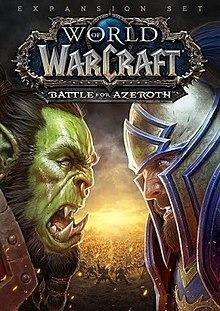 Key World Of Wacraft Battle For Azeroth