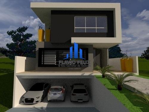 Imagem 1 de 8 de Casa Nova E Moderna Condominio Real Park Arujá 4 Suítes - 621