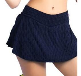 Kit 4 Shorts Saia Plus Size Bolha Nao Fica Transparente