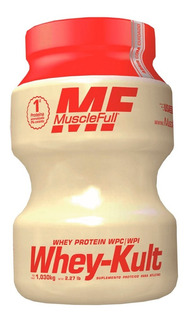 Whey-kult Yakult 1kg Muscle Full Sabor Yakult C/ Nota Fiscal