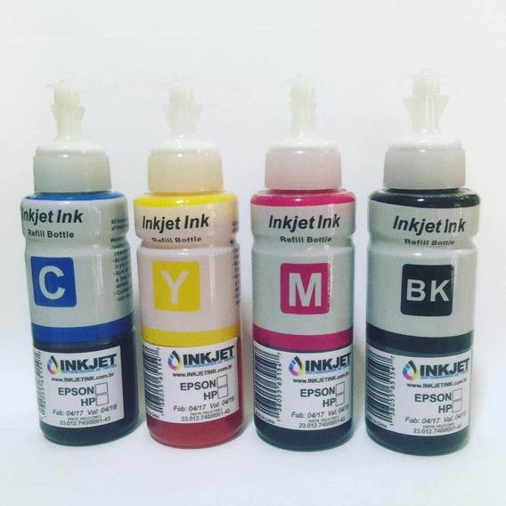 Kit 50 Unidades Tinta Inkjet Para Epson