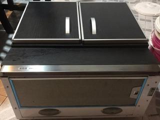 Campana Purificador Spar Franke Inox 60 Cm + Mueble