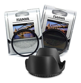 Kit Filtro 52mm Uv Polarizador Cpl Nikon D5300 D5200 D5100