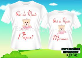 Kit Camisetas Personalizadas Gestante Grávida Cha De Bebe