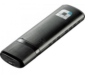 Adaptador Wireless Dual Band Usb Dwa-182 Preto D-link