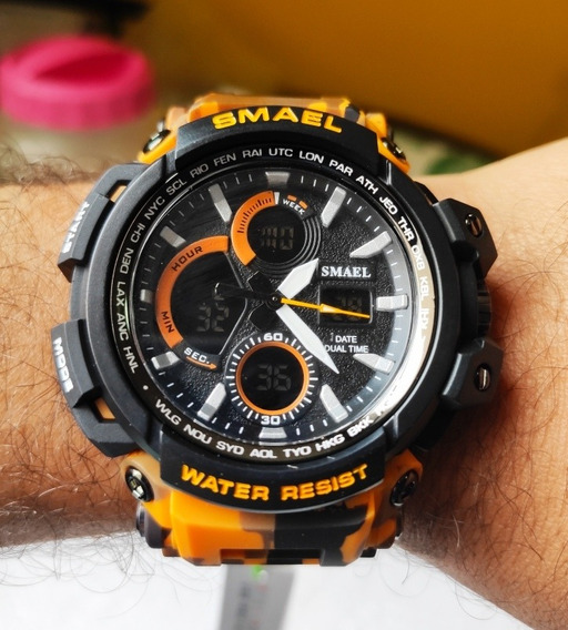 Relógios Smael Shock 1708 Masculino Prova D