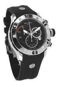 Reloj Nivada Ng3999gacna Caballero Swissmater Cristal Safiro