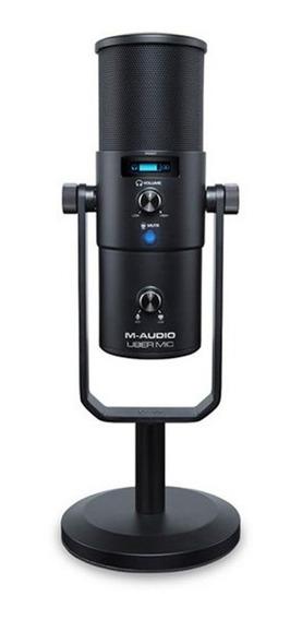 Microfone M-audio Uber Mic Usb Saída Fone De Ouvido - Ac1663