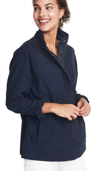 Chamarra Mujer Cazadora Dama Casual 390910 Old Navy