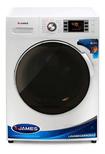 Imagen 1 de 3 de Lavasecarropas James E1016 10kg Digital Autolimpiante Pcm