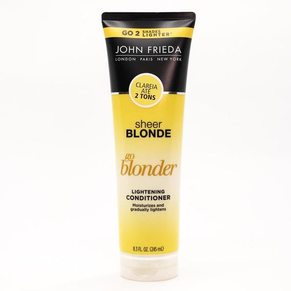 Condicionador John Frieda Sheer Blonde Go Blonder 245ml