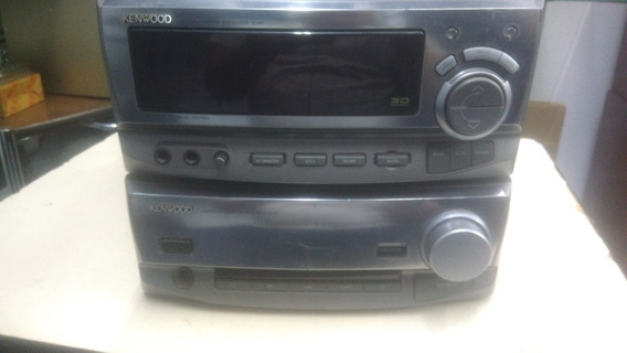 Conjunto Kenwood Japonês (amplificador, Equalizador E Tuner)