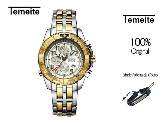 Relógio Temeite No-012 Original Prova D