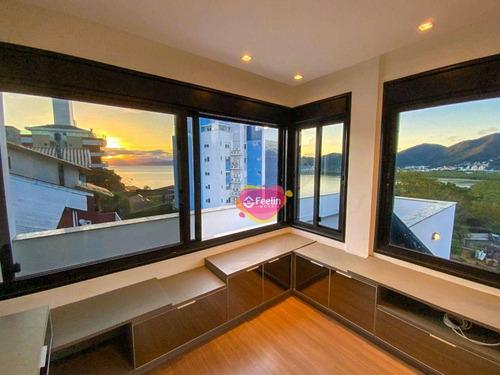 Imagem 1 de 30 de Casa Com 4 Suítes À Venda, 330 M² Por R$ 1.680.000 - João Paulo - Florianópolis/sc - Sc - Ca0006_feelin