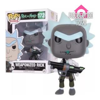Muñeco Tipo Pop Weaponized Rick #172/ Barrio Norte- Palermo