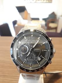 Relógio Unissex Orient Aço Cronógrafo
