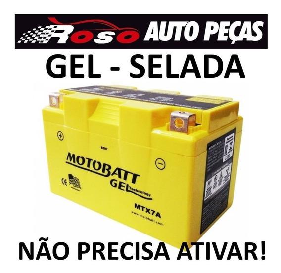 Bateria De Moto 7ah Suzuki 125 Burgman / Mirage 150 De Gel