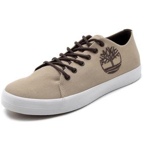 Tênis Timberland Newport Bay Ox Canvas - Bege