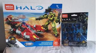 Halo Mega Construx Ataque Del Merodeador Banished Y Mark 1