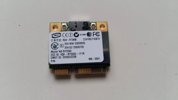 Placa Wireless Mini Pci Notebook Infoway Note L9310