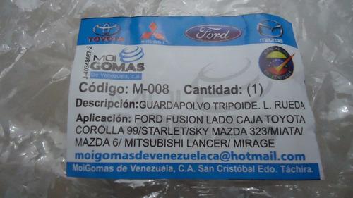 Kit Goma De Tripoide Lado Rueda Sky Corolla Lancer M-008 Rd