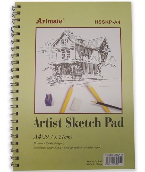 Cuaderno Boceto Artmate 160g. 21x29cm