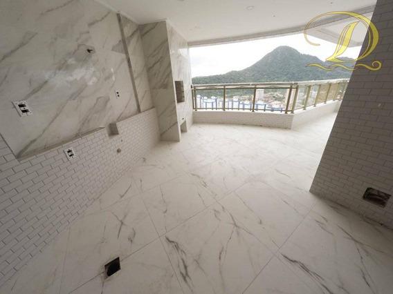 Apartamento De 3 Quartos À Venda, Novo No Canto Do Forte, 02 Vagas E 03 Banheiros!!! - Ap2308