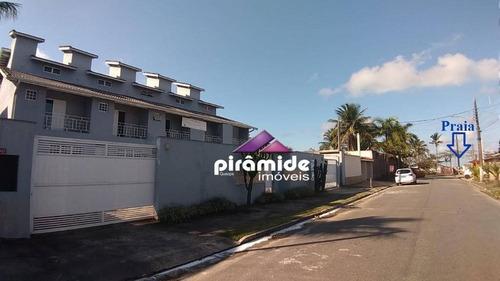 A Sua Casa Com 125 M², Novíssima, 3 Suítes + Lavabo, A 100 Metros Da Praia, Por R$ 360.000 - Jardim Britânia, Caraguatatuba/sp - Ca5246