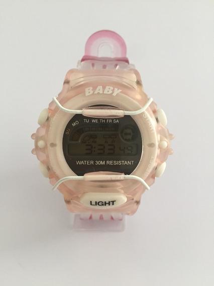 Reloj Baby Converse, Deportivo Retro, Digital Con Cronógrafo