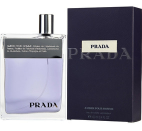 Decant Amostra Do Perfume Prada Amber Pour Homme Men 2ml