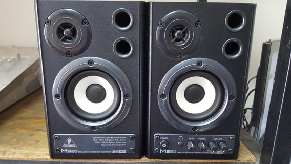 Monitor De Audio Behringer Ms-20 Ms 20 Ms20