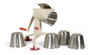 Rallador Procesador Rebanador Metalico De Alimentos Turmix