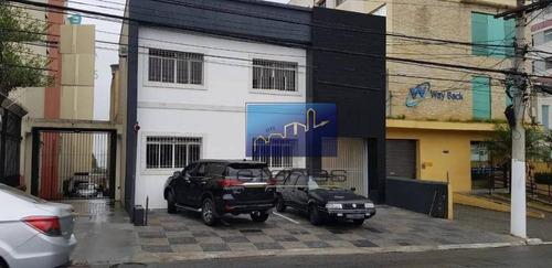 Imagem 1 de 1 de Prédio Para Alugar, 583 M² Por R$ 14.000,00/mês - Mooca - São Paulo/sp - Pr0028