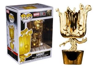Funko Pop Groot 378 Chrome - Marvel Stud10s Original Nuevo