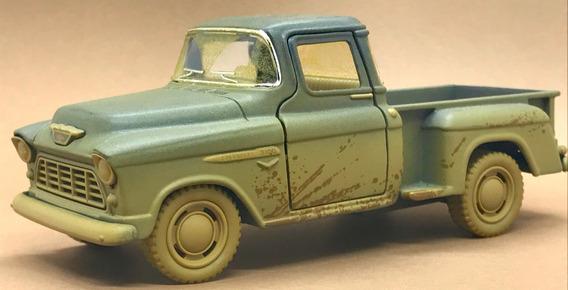 Miniatura Chevy Stepside Pick-up Escala 1/32