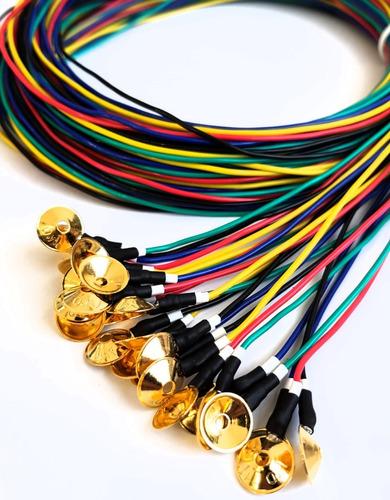 Eletrodo Eletroencefalograma E Poli  Com Banho De Ouro (eeg)