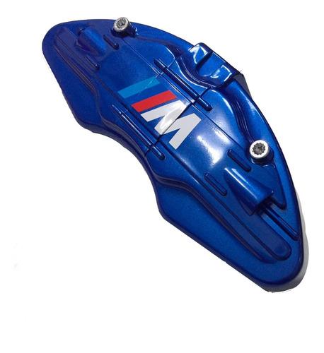 Imagem 1 de 1 de Jogo C/ 4 Capas Para Pinça De Freio - Bmw Motorsport Azul