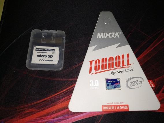 Cartão Micro Sd 128gb + Sd2vita