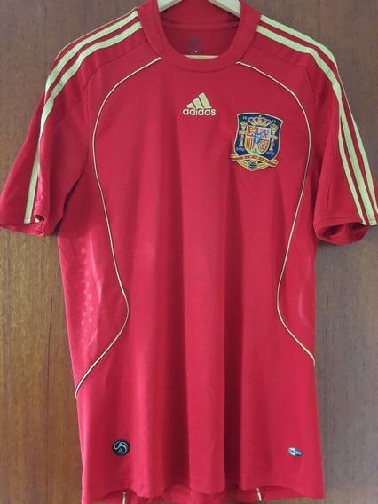 Camisa Seleção Espanha 2008 adidas M