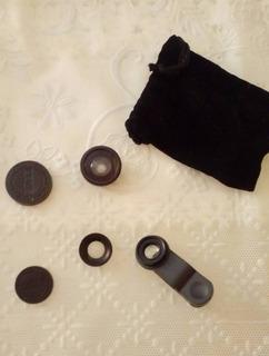 Kit 3 Lentes De Camera Para Celular